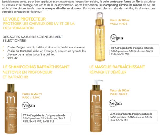 Mulato - protection soleil pour cheveux